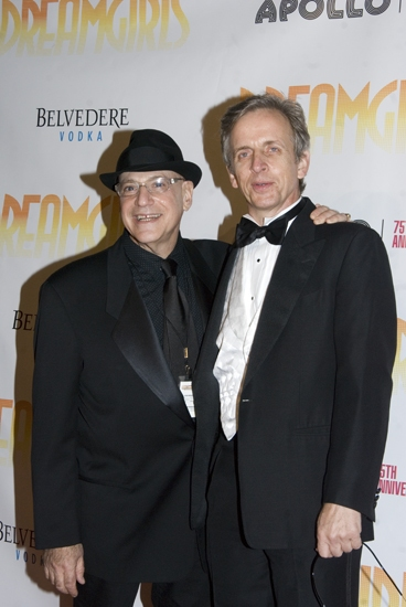 Henry Krieger and Bobby Joy at Opening Night of DREAMGIRLS at the Apollo Red Carpet