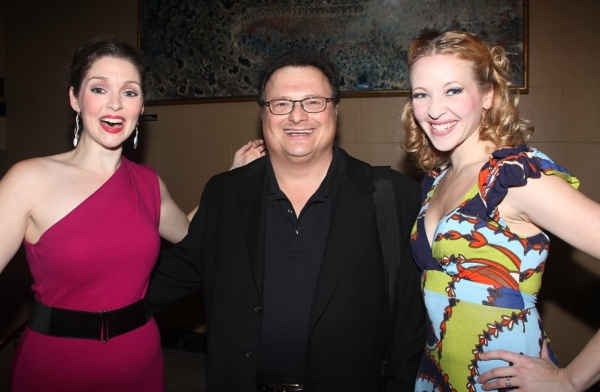 Leah Edwards, Wayne Knight and Michelle Lookadoo at ENCORES! 'Girl Crazy'  Closing After Party