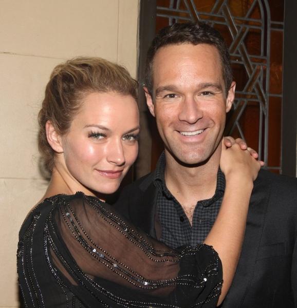 Becki Newton & Chris Diamantopoulos