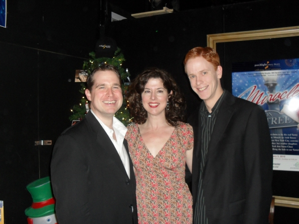 Karl Hamilton, Christa Buck, and Steve Tomlitz