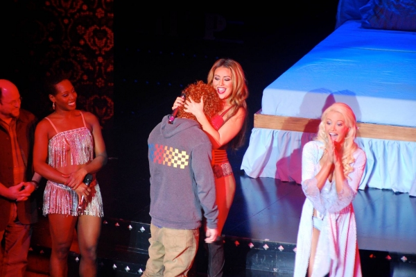 Carrot Top, Aubrey O'Day and Holly Madison