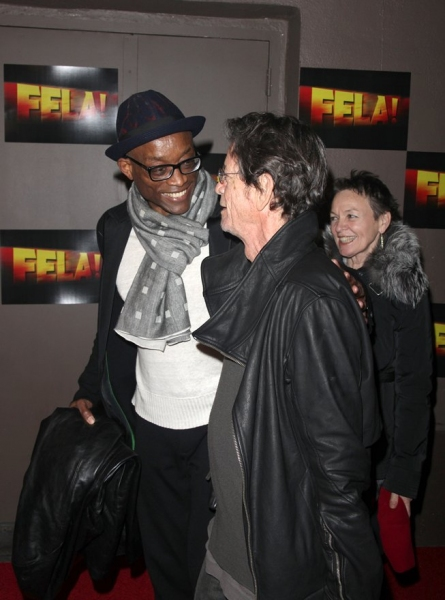 Bill T. Jones and Lou Reed at FELA!  Opening Night on Broadway - Red Carpet Arrivals!