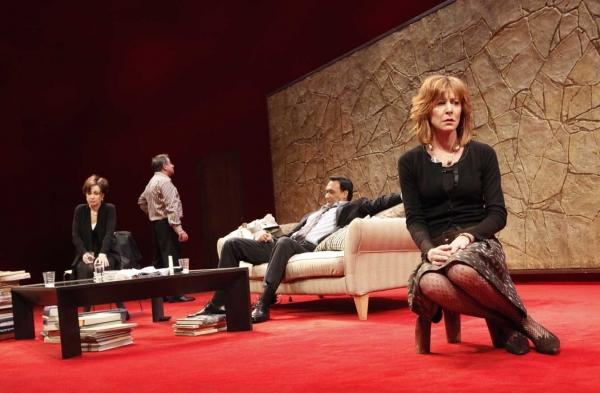 Ken Stott, Christine Lahti, Annie Potts and Jimmy Smits  Photo