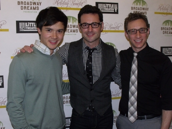 Jeffrey Omura, Max Von Essen and Craig Burns