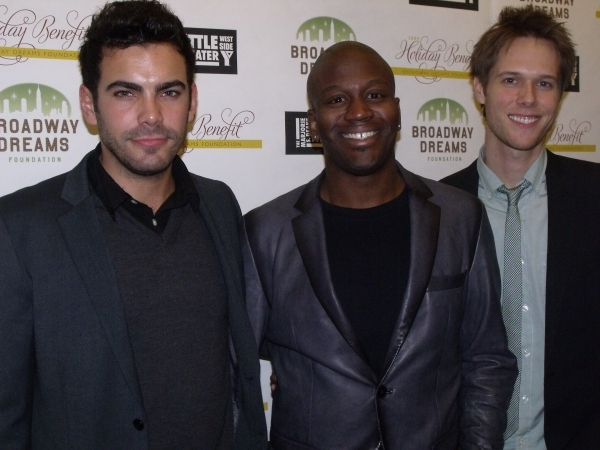 Will Taylor, Tituss Burgess and Matt Risch