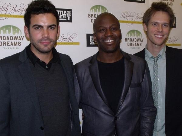 Will Taylor, Tituss Burgess and Matt Risch