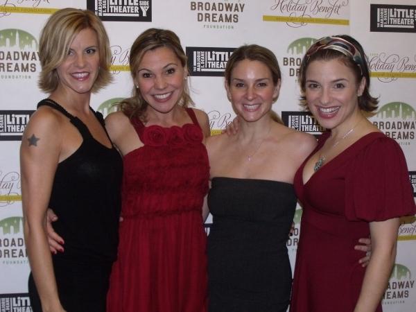 Jenn Colella, Amanda Watkins, Jess Bogart and Jenn Gambatese