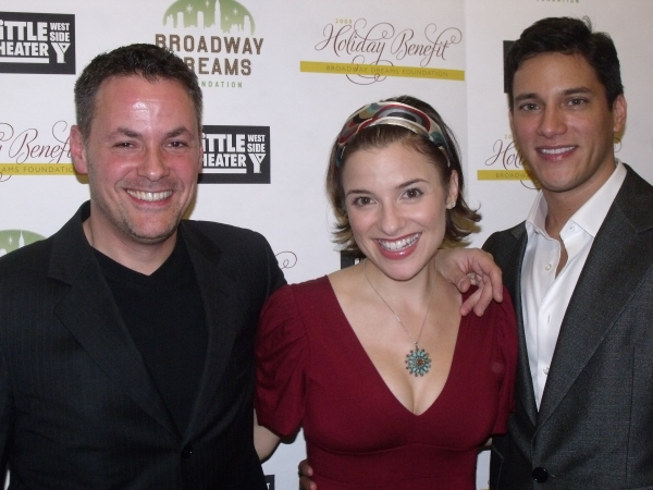 Adam Guetell, Jenn Gambatese and Nick Rodriguez