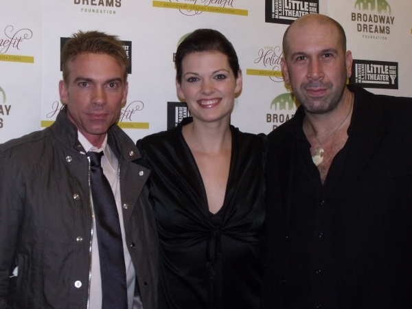 Jamie Harris, Kate Shindle and Jeremy Schonfeld