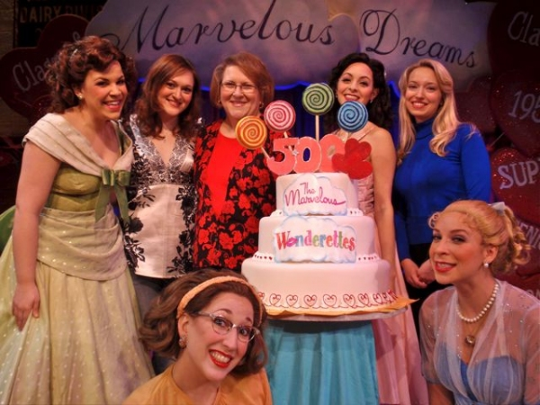 Lindsay Mendez, Tricia Tanguy, baker AnnMarie Tanguy, Christina DeCicco, Christy Faber, Lowe Taylor, Courtney Balan