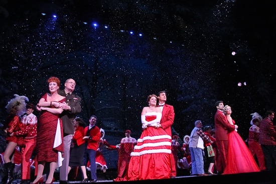 Photo Coverage: Happy Holiday! IRVING BERLIN'S WHITE CHRISTMAS Opens!