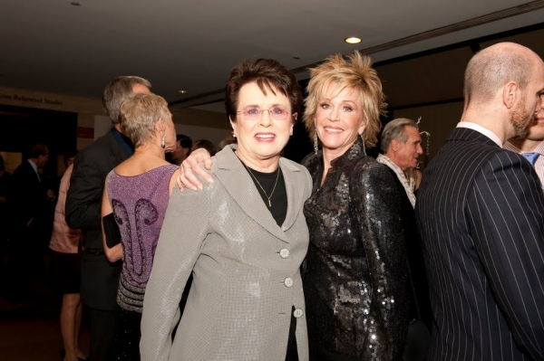 Billie Jean and Jane Fonda