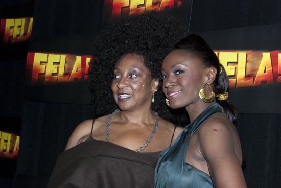Sandra Isadode and  Saycon Sengbloh