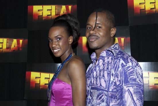 Elasea Douglas and Farai Malianga Photo