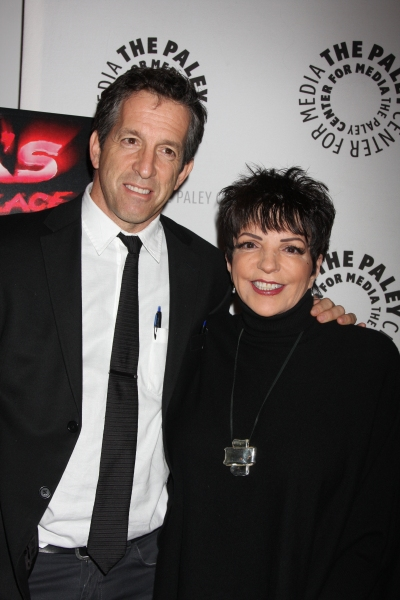 Kenneth Cole and Liza Minnelli  at LIZA'S AT THE PALACE.... Screening at The Paley Center