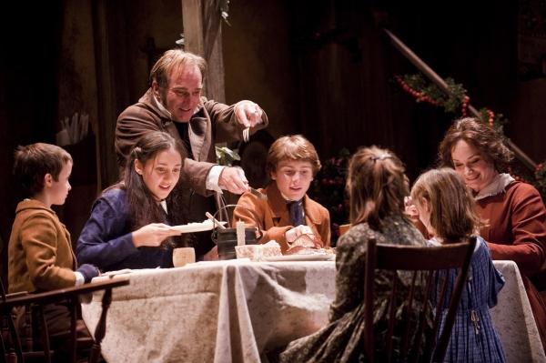 John Babbo (Tiny Tim), Lauren Patten (Martha Cratchit), Ron Rains (Bob Cratchit), Nathan Sabo (Peter Cratchit), Mackenzie Wilkin (Belinda Cratchit), Caroline Heffernan
