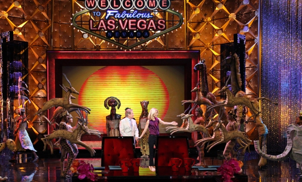 Photo Preview: THE LION KING Guests on 'Live With Regis And Kelly' from the Encore Wynn Las Vegas Resort