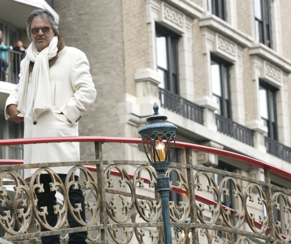 Andrea Bocelli at The 83rd Edition of the 'Macy's Thanksgiving Day Parade' - The Men