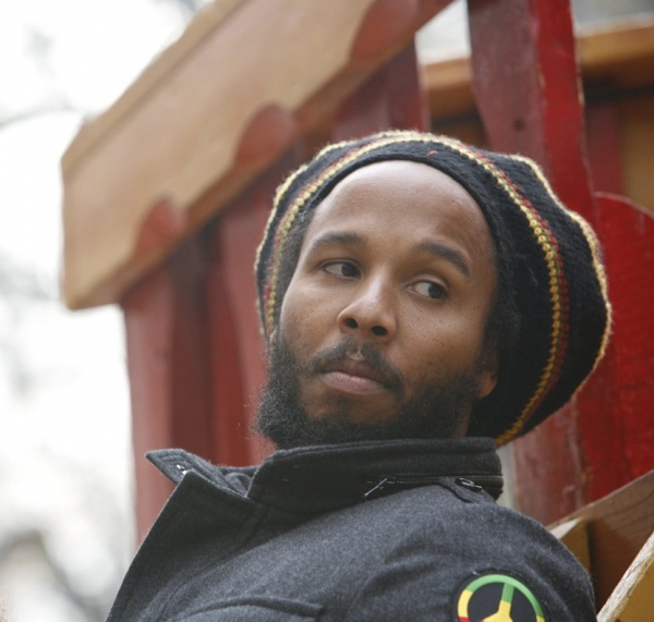 Ziggy Marley  at The 83rd Edition of the 'Macy's Thanksgiving Day Parade' - The Men