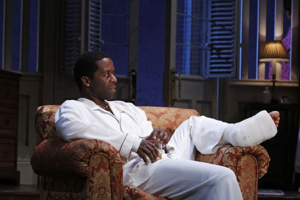 Adrian Lester at The Cast of CAT ON A HOT TIN ROOF at the Novello Theatre