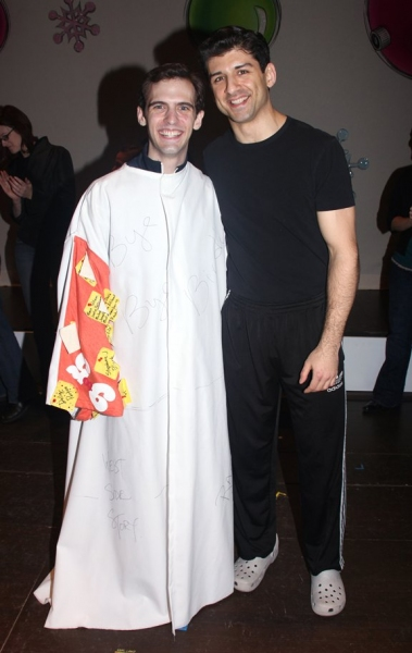 Photo Coverage: IRVING BERLIN'S WHITE CHRISTMAS' Broadway Opening Night - The Gypsy Robe Ceremony!