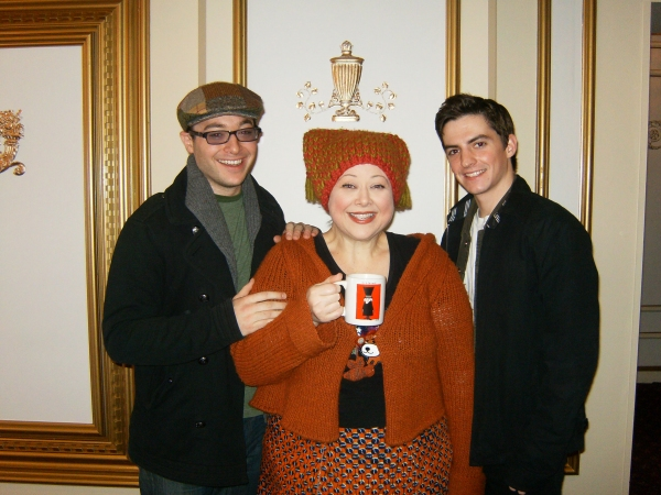 Bernie Balbot, Sharon Sachs and Andrew Redlawsk