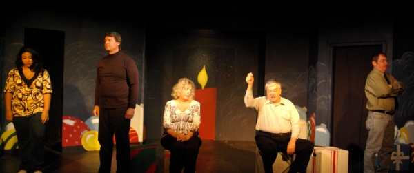Photo Flash: Laurel Mill Playhouse Presents UH OH HERE COMES CHRISTMAS