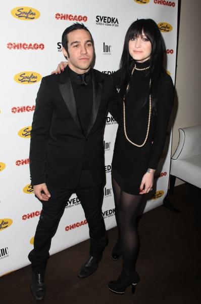 Pete Wentz and Ashlee Simpson-Wentz  Photo