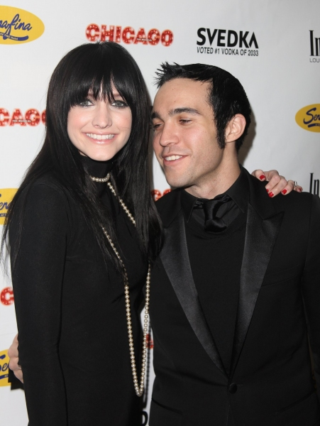Pete Wentz and Ashlee Simpson-Wentz  at Ashlee Simpson-Wentz's CHICAGO Debut After-Party