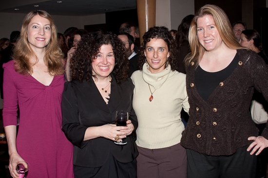Michaela Rome, Marcy Heisler, Sandra Coudert, and Madeline McEneney at 2009 Fred Ebb Awards Honor Heisler and Goldrich