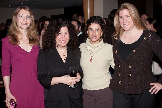 Michaela Rome, Marcy Heisler, Sandra Coudert, and Madeline McEneney