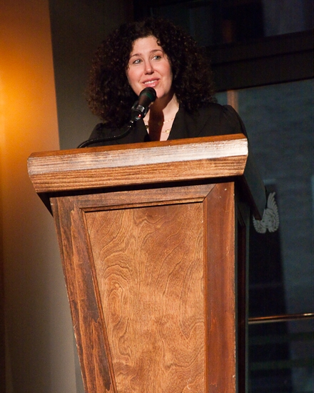 Rose Uniacke Transforms Screenwriter Peter Morgan S: Photo Coverage: 2009 Fred Ebb Awards Honor Heisler And