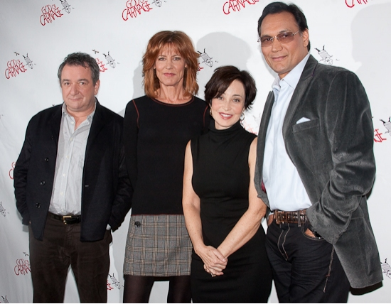 Ken Stott, Christine Lahti, Annie Potts and Jimmy Smits