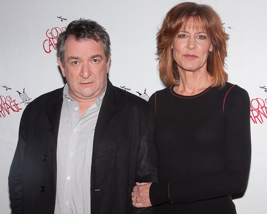 Ken Stott and Christine Lahti