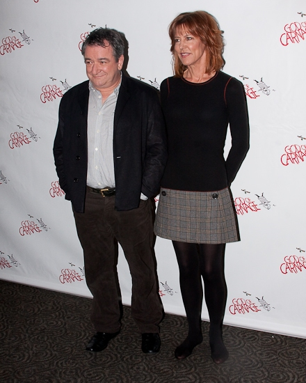 Ken Stott and Christine Lahti