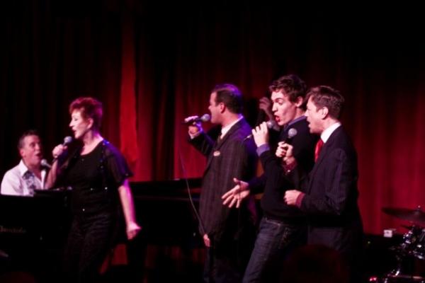 Billy Stritch, Ruth Williamson, Clarke Thorell, Erich Bergen & Jim Caruso Photo