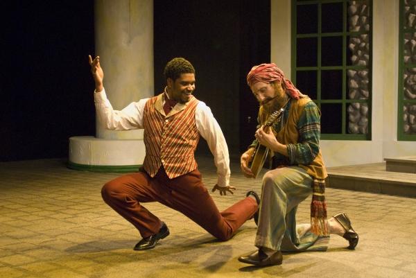 Jos�'© A, Rufino as Duke Orsino and Chris Ensweiler Photo