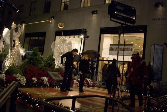 Photo Coverage: 2009 Rockefeller Christmas Tree Lighting!