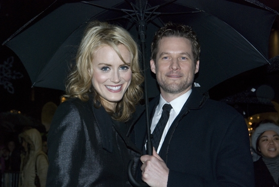 Taylor Schilling and James Tupper