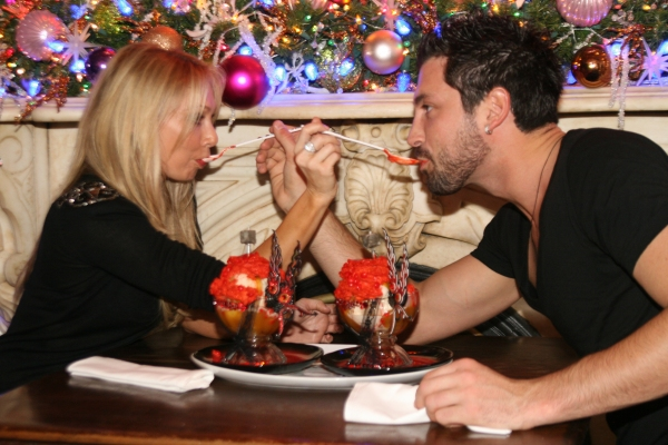 Kym Johnson and Maks Chmerkovskiy