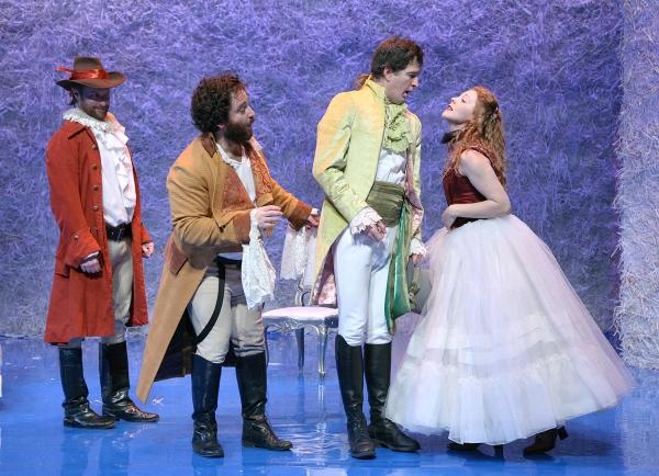 Jon Barker, Dave Shalansky, Matt Bradford Sullivan and Erin Partin at The Shakespeare Theatre of New Jersey Presents TWELFTH NIGHT