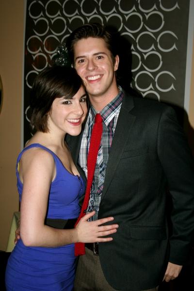 Nina Sturtz and Jake Wilson