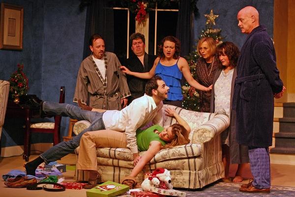 Viv Berger, Tom Libonate, Ali Bernhardt, Janice Connor, Mikki Harkin, Matt McQuail. (On couch) Nicholas Pollifrone and Tracy Hurd