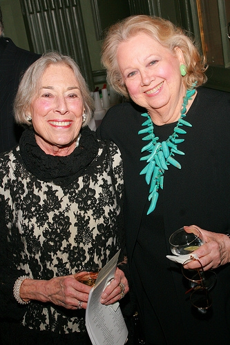 Mary Rodgers and Barbara Cook Photo
