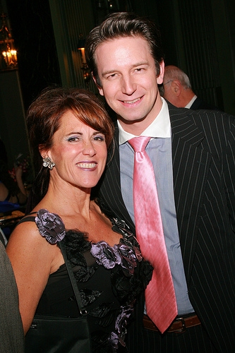 Tracy Aron and Edwin Cahill