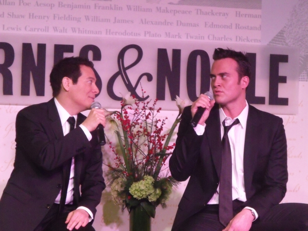 Photo Coverage: Michael Feinstein and Cheyenne Jackson Sign and Sing at Barnes & Noble