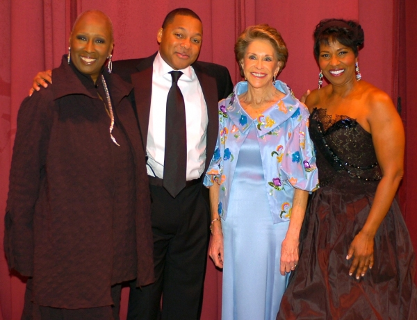 Judith Jamison, Wynton Marsalis, Joan Weill & Pauletta Washington at Alvin Ailey American Dance Theater's Season Opening Night Benefit Gala Celebrates Judith Jamison