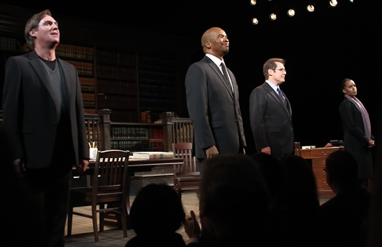 Photo Coverage: Opening Night of RACE on Broadway - Curtain Call and After-Party