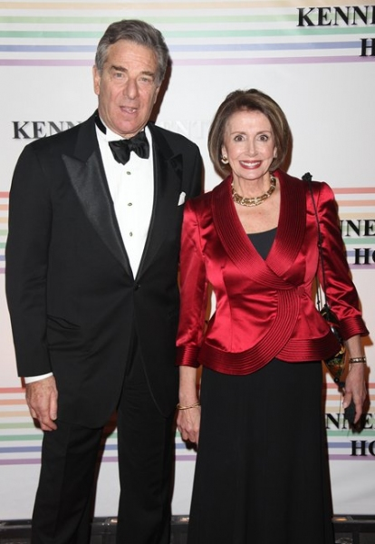 Nancy Pelosi & Husband Paul Pelosi