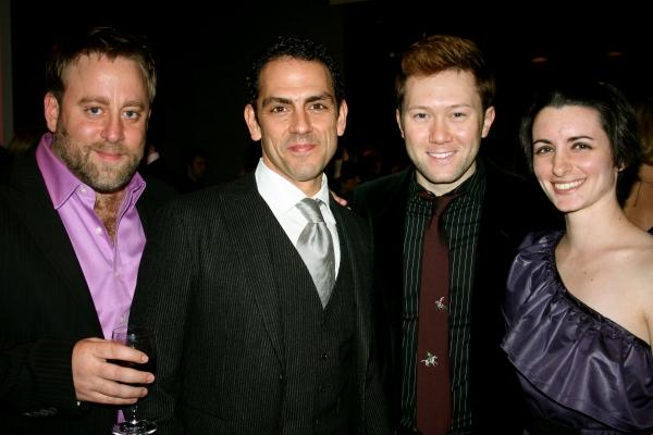 Jed Abrahams, Johnathan Hammond, Stanley Bahorek, Theresa Flanagan Photo